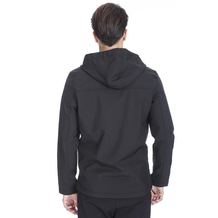 Erkek Siyah Kapüşonlu Outdoor Mont 710754-SYH 1111570