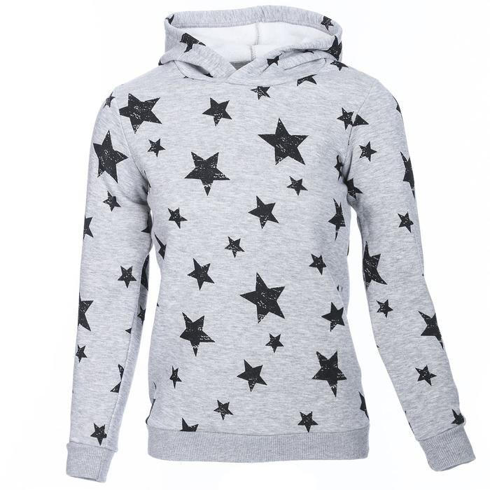 Girlswestar Çocuk Gri Koşu Sweatshirt G10001-GML 1111708