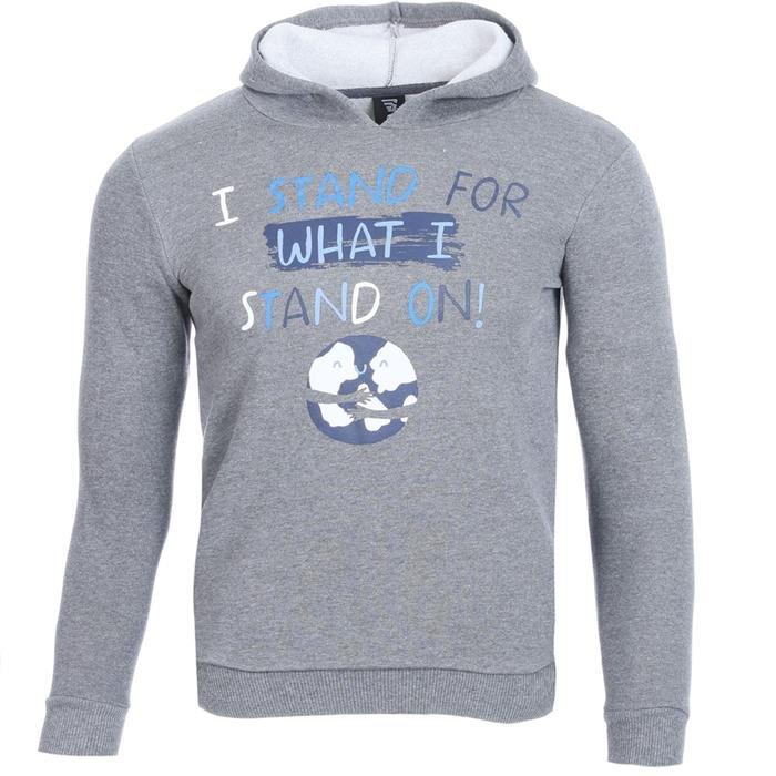 Boysweone Çocuk Gri Koşu Sweatshirt B10001-GML 1111632