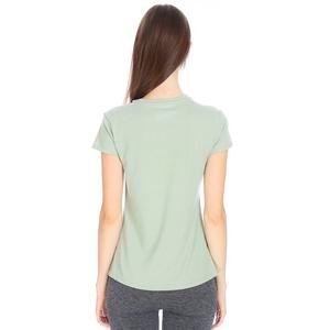 Polbaswom Kadın Yeşil Koşu Tişört M10009-GRN