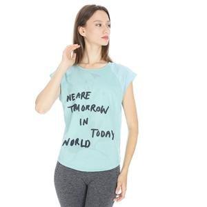 Kestoday Kadın Mavi Koşu Tişört 710608-BRN