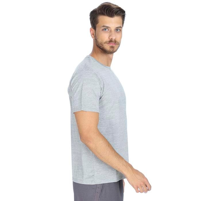 Perbasmix Erkek Gri Koşu Tişört 710506-GML 1063529