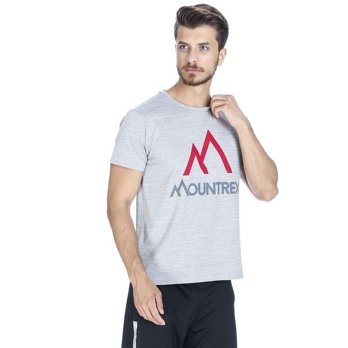 Milmount Erkek Gri Koşu Tişört M100018-GML 1072882
