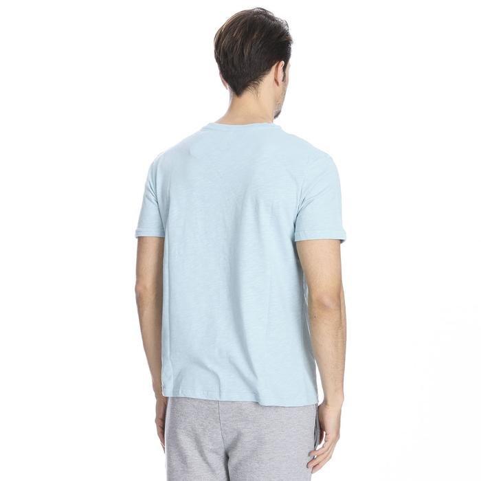 Flageo Erkek Mavi Koşu Tişört 710514-BRN 1063491