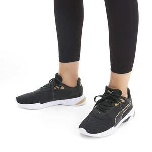 Jaro Metal Kadın Siyah Koşu Ayakkabısı 19313502