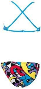Cores Kız Çocuk Desenli Bikini Takımı 2A05248
