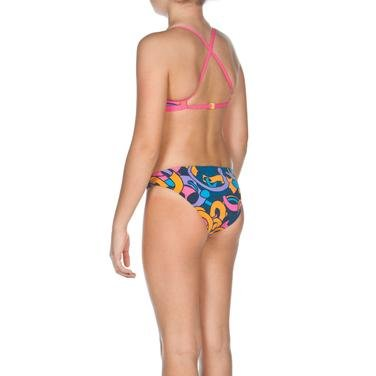 Cores Kız Çocuk Mavi-Pembe-Turuncu Bikini 2A05289 753614