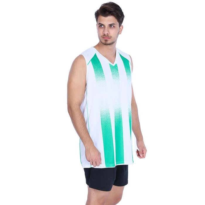 Tiger Erkek Beyaz Basketbol Forması 500040-0BY 478149
