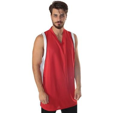 Falcon Erkek Kırmızı V Yaka Basketbol Forması 500026-0KB 296575