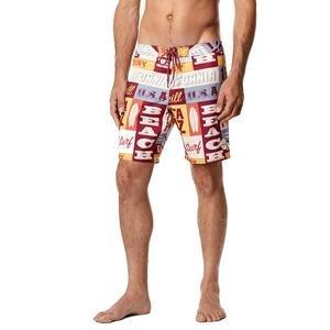 Socal Erkek Renkli Desenli Yüzme Şort Mayo 7A3116-3900