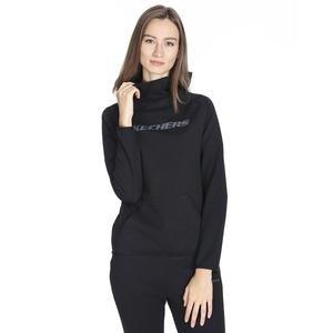 2X i-Lock Kadın Siyah Günlük Stil Sweatshirt S192202-001