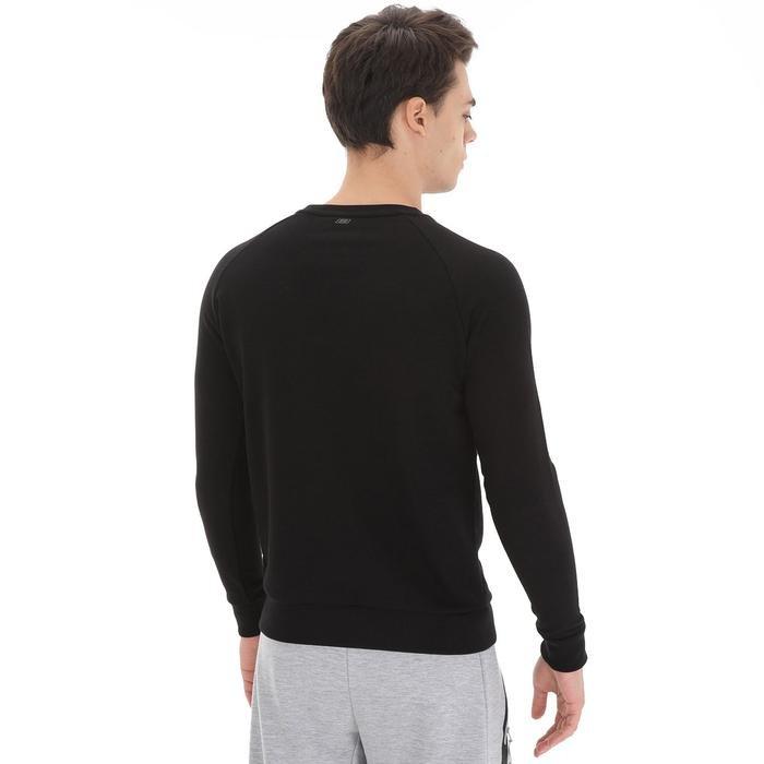 Hero Crew Neck Erkek Siyah Günlük Stil Sweatshirt S192110-001 1149572