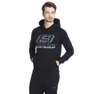 Fleece Erkek Siyah Günlük Stil Sweatshirt S192095-001