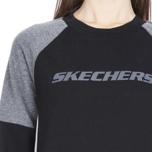 LFleece CreNeck Kadın Siyah Günlük Stil Sweatshirt S192083-001