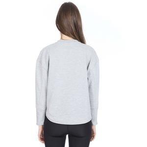 2X i-Lock Kadın Gri Günlük Stil Sweatshirt S192201-035