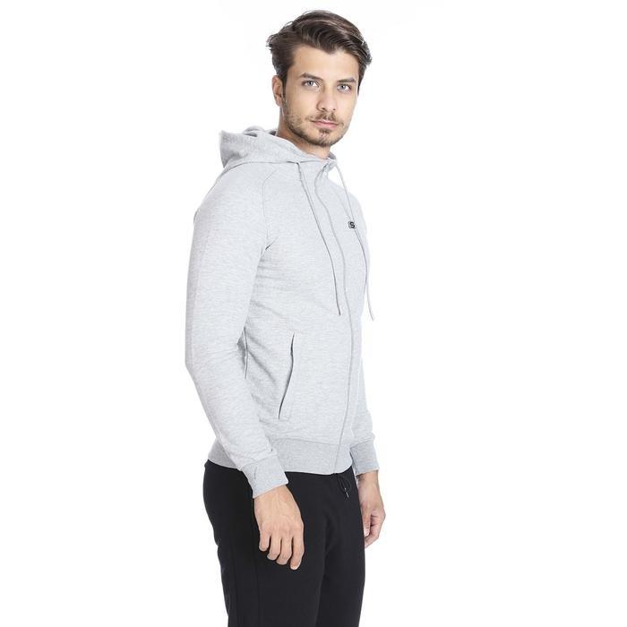 Fleece Erkek Beyaz Günlük Stil Sweatshirt S192239-035 1149608