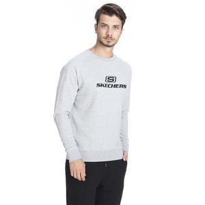 Hero Crew Neck Erkek Beyaz Günlük Stil Sweatshirt S192110-035