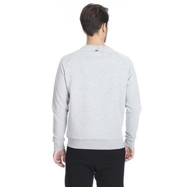 Hero Crew Neck Erkek Beyaz Günlük Stil Sweatshirt S192110-035 1149578