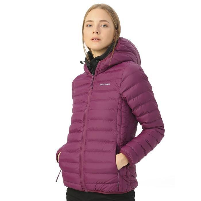 W Filled Kadın Mor Outdoor Şişme Mont S192055-800 1149303