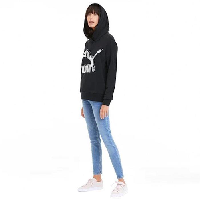 Classics Kadın Siyah Kapüşonlu Sweatshirt 59520171 1172456