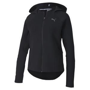 Evostripe Fz Hoody Kadın Siyah Kapüşonlu Sweatshirt 58124501