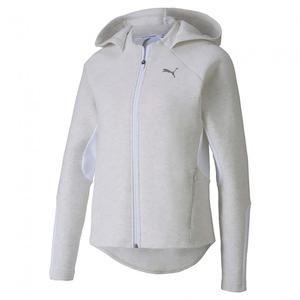 Evostripe Fz Hoody Kadın Gri Kapüşonlu Sweatshirt 58124519