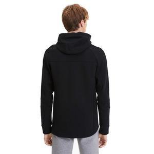 Evostripe Hooded Erkek Siyah Kapüşonlu Sweatshirt 58148601