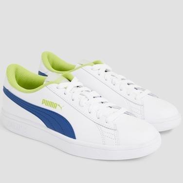 Smash V2 L Jr Kadın Beyaz Günlük Ayakkabı 36517014 1094630