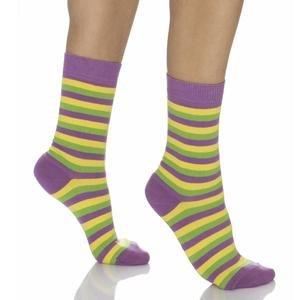 Kadın Sarı Çemberli Çorap WSC0606