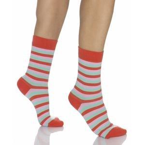 Kadın Turuncu Çemberli Çorap WSC0603