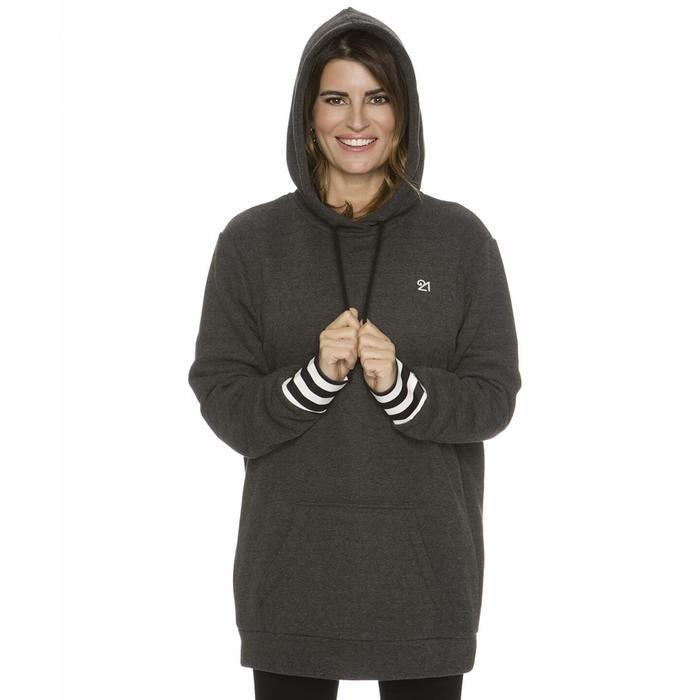 Kadın Gri Antrenman Sweatshirt WHD2S24 1157535