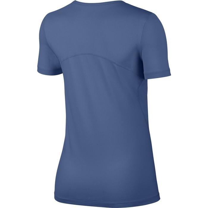 Top All Over Mesh Kadın Mavi Tişört AO9951-458 1121964