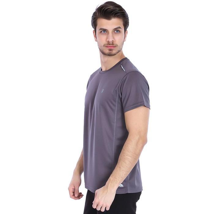 Fortunato Erkek Gri Günlük Stil Tişört 710301-00A 987830