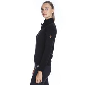 Kadın Siyah Polar Sweatshirt 710081-00B