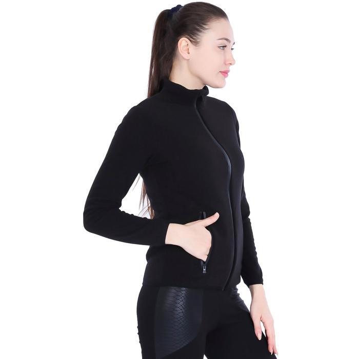 Kadın Siyah Polar Sweatshirt 710080-00B 962393