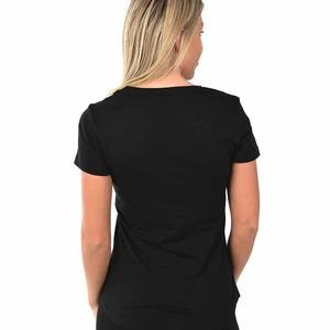 Ess Logo Tee Kadın Siyah Tişört  85178701