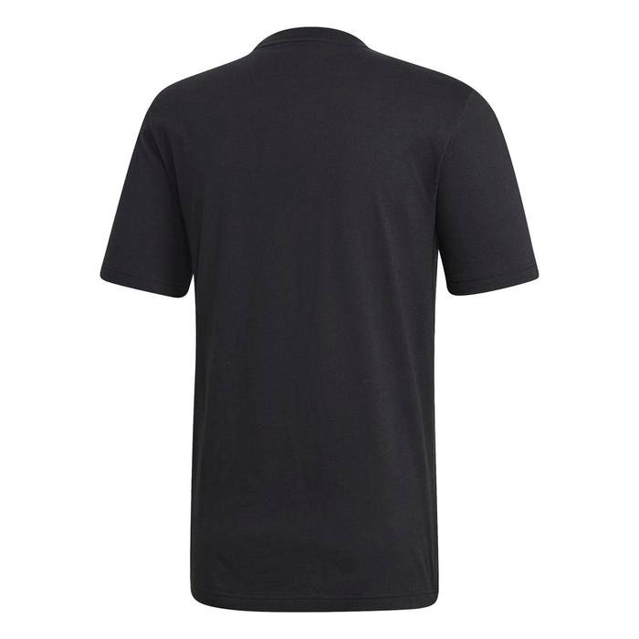 E Lin Erkek Siyah Günlük Stil Tişört DU0404 1115443