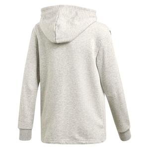 Must Haves Çocuk Gri 3 Bantlı Antrenman Kapüşonlu Sweatshirt DV0822