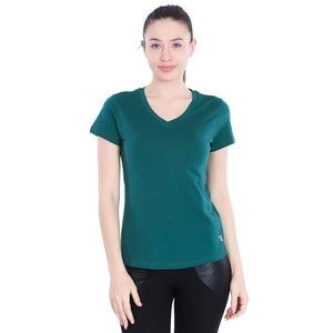Flakestop Kadın Yeşil Günlük Stil Tişört 710180-VRD