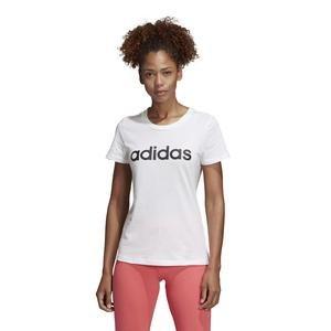E Lin Slim T Kadın Beyaz Günlük Stil Tişört DU0629