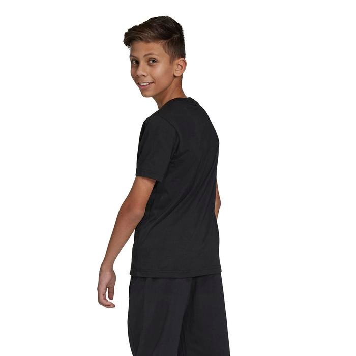 Yb E Lin Çocuk Siyah Günlük Stil Tişört DV1811 1115618