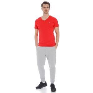 Flavebasic Erkek Kırmızı Günlük Stil Tişört 710387-KRM