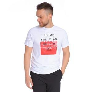 Erkek Beyaz Tişört 711007-BYZ