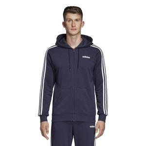 Essentials Erkek Siyah Kapüşonlu Ceket DU0471