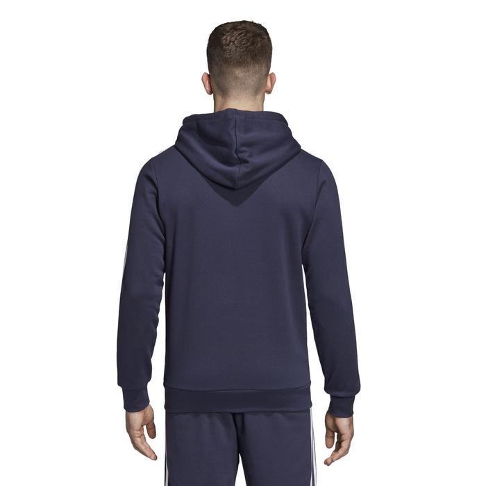 Essentials Erkek Siyah Kapüşonlu Ceket DU0471 1115457