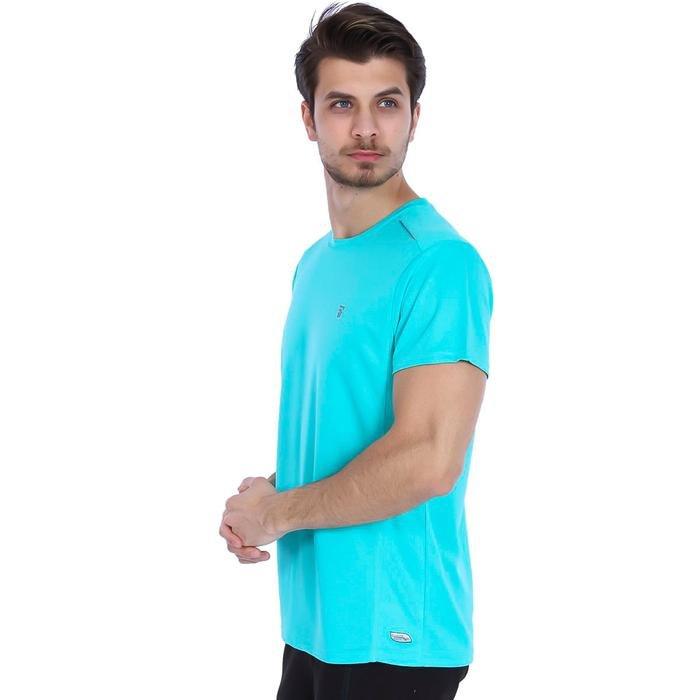 Fortunato Erkek Mavi Günlük Stil Tişört 710301-0TR 987866