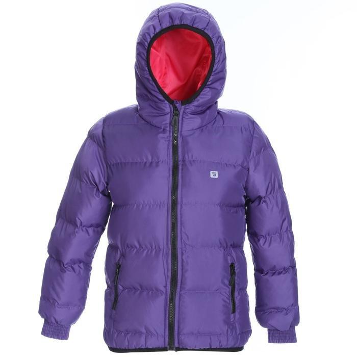 Çocuk Mor Kapüşonlu Outdoor Mont G10006-MOR 1127766
