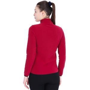 Kadın Bordo Polar Sweatshirt 710081-0MR