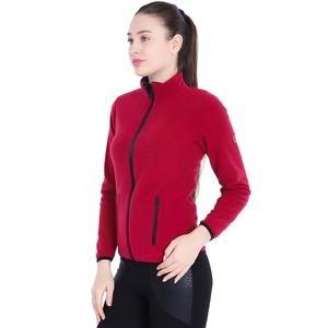 Kadın Bordo Polar Sweatshirt 710080-0MR