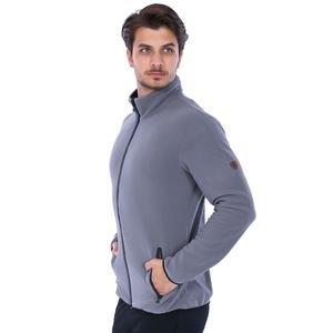 Erkek Gri Polar Sweatshirt 710079-00A